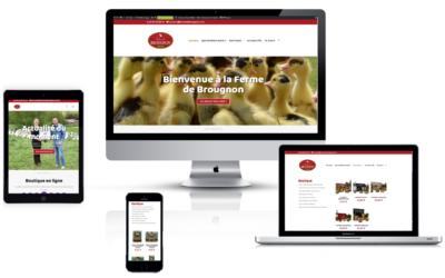 Bienvenue sur le nouveau site de la Ferme Brougnon !