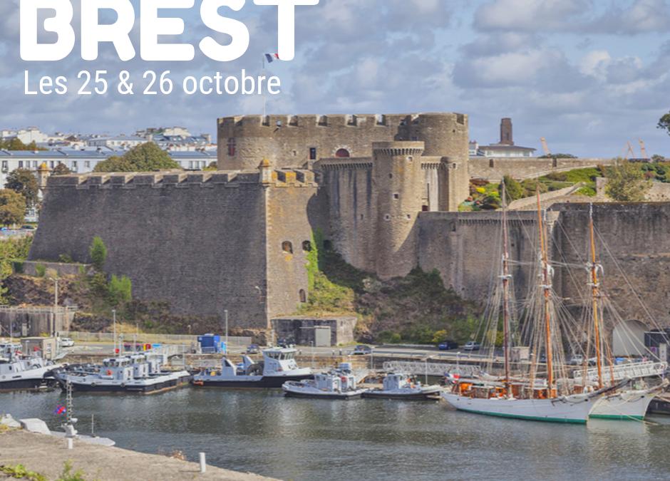 Nous vous attendons à Brest !!!